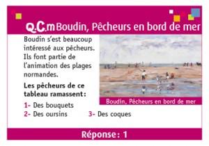 Exemple de carte Oeuvres Passion Normandie