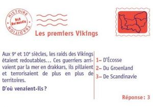 Exemple de carte Les Vikings